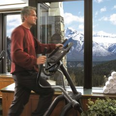 Отель Fairmont Banff Springs фитнесс-зал фото 2