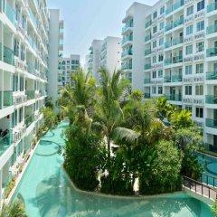 Отель Amazon Residence Pattaya Jomtien Паттайя бассейн