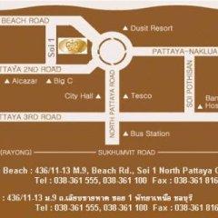 Crown Pattaya Beach Hotel городской автобус