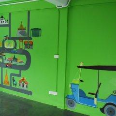 The Art Hostel Bangkok Бангкок сейф в номере