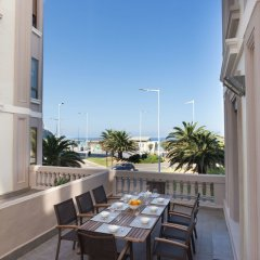 Отель Atlantic - Iberorent Apartments Испания, Сан-Себастьян - отзывы, цены и фото номеров - забронировать отель Atlantic - Iberorent Apartments онлайн балкон