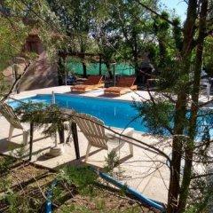 Отель Cabañas la Casona Аргентина, Мина Клаверо - отзывы, цены и фото номеров - забронировать отель Cabañas la Casona онлайн бассейн фото 2