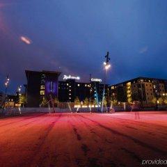 Radisson Blu Limfjord Hotel Aalborg спортивное сооружение