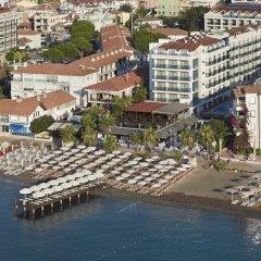 Emre Beach Hotel Турция, Мармарис - отзывы, цены и фото номеров - забронировать отель Emre Beach Hotel онлайн пляж фото 2