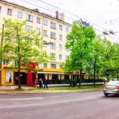 Гостевой Дом Турист Петрозаводск вид на фасад