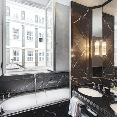 Отель Bayerischer Hof Германия, Мюнхен - 4 отзыва об отеле, цены и фото номеров - забронировать отель Bayerischer Hof онлайн ванная фото 2