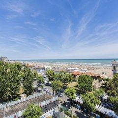 Отель Due Mari Римини пляж фото 2