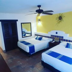 Отель Playa Conchas Chinas Пуэрто-Вальярта комната для гостей фото 3
