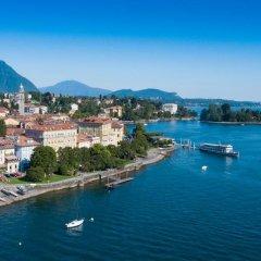 Отель Aquadolce Италия, Вербания - отзывы, цены и фото номеров - забронировать отель Aquadolce онлайн пляж фото 2