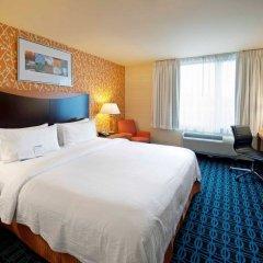 Отель Fairfield Inn by Marriott JFK Airport США, Нью-Йорк - отзывы, цены и фото номеров - забронировать отель Fairfield Inn by Marriott JFK Airport онлайн комната для гостей фото 3