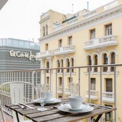 Отель Charming Goya Luxury Испания, Мадрид - отзывы, цены и фото номеров - забронировать отель Charming Goya Luxury онлайн балкон