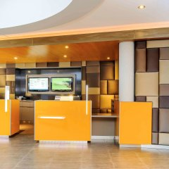 Отель Novotel Muenchen Airport Фрайзинг интерьер отеля