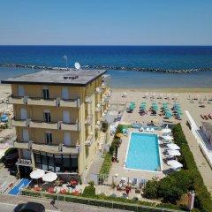 Hotel Biagini Римини пляж фото 2