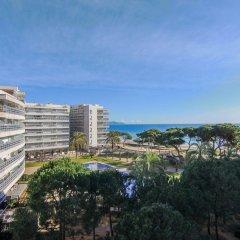 Отель Apartamentos S'Abanell Central Park Испания, Бланес - отзывы, цены и фото номеров - забронировать отель Apartamentos S'Abanell Central Park онлайн пляж фото 2