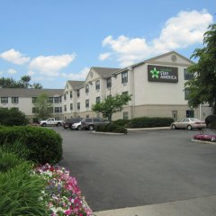 Отель Extended Stay America Columbus - North Колумбус парковка