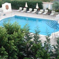 Отель Villa Daphne Джардини Наксос бассейн