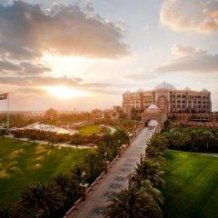 Отель Emirates Palace Abu Dhabi балкон