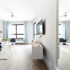 Отель Comfortable Apartment in Warsaw Польша, Варшава - отзывы, цены и фото номеров - забронировать отель Comfortable Apartment in Warsaw онлайн комната для гостей фото 3