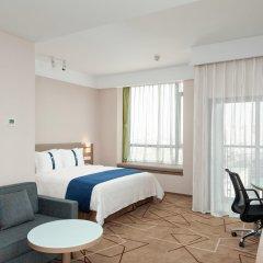 Отель Holiday Inn Express Chengdu West Gate комната для гостей