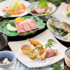 Отель Kurokawa Onsen Ryokan Wakaba Минамиогуни питание