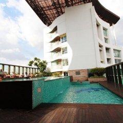 Отель Urbana Langsuan Bangkok, Thailand Таиланд, Бангкок - 1 отзыв об отеле, цены и фото номеров - забронировать отель Urbana Langsuan Bangkok, Thailand онлайн бассейн фото 3