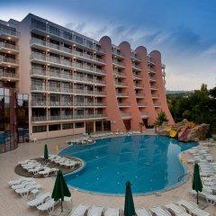 Отель Helios Spa - All Inclusive Болгария, Золотые пески - 1 отзыв об отеле, цены и фото номеров - забронировать отель Helios Spa - All Inclusive онлайн бассейн