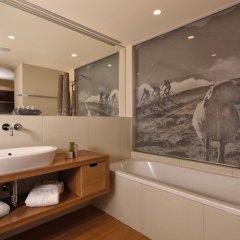 Отель Bergland Design- und Wellnesshotel Австрия, Зёльден - отзывы, цены и фото номеров - забронировать отель Bergland Design- und Wellnesshotel онлайн ванная