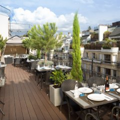 Отель Juliana Paris Франция, Париж - отзывы, цены и фото номеров - забронировать отель Juliana Paris онлайн балкон