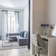 Отель Apartamento Plaza de Cibeles Испания, Мадрид - отзывы, цены и фото номеров - забронировать отель Apartamento Plaza de Cibeles онлайн комната для гостей фото 3