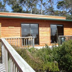 Bruny Island Escapes and Hotel Bruny балкон