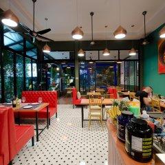 Отель Anchan Private Pool Villas гостиничный бар