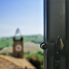Отель Castello Di Monterado Италия, Монтерадо - отзывы, цены и фото номеров - забронировать отель Castello Di Monterado онлайн балкон фото 2