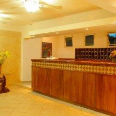 Отель Terracaribe Hotel Мексика, Канкун - отзывы, цены и фото номеров - забронировать отель Terracaribe Hotel онлайн интерьер отеля