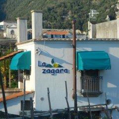 Отель La Zagara Минори приотельная территория