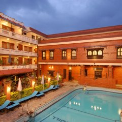 Отель Goodwill Непал, Лалитпур - отзывы, цены и фото номеров - забронировать отель Goodwill онлайн балкон