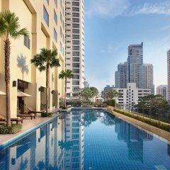 Отель Sukhumvit Park, Bangkok - Marriott Executive Apartments Таиланд, Бангкок - отзывы, цены и фото номеров - забронировать отель Sukhumvit Park, Bangkok - Marriott Executive Apartments онлайн бассейн
