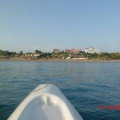 Отель Mavi Cennet Camping Pansiyon Сиде приотельная территория