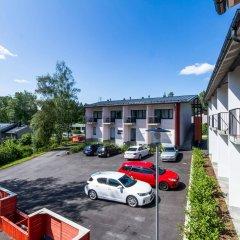 Апартаменты Forenom Apartments Espoo Lintuvaara парковка