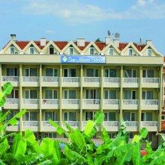Sun Maris City Турция, Мармарис - отзывы, цены и фото номеров - забронировать отель Sun Maris City онлайн пляж фото 2
