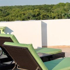 Отель Lory House Плая-дель-Кармен балкон