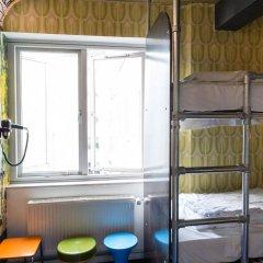 Отель Copenhagen Downtown Hostel Дания, Копенгаген - 1 отзыв об отеле, цены и фото номеров - забронировать отель Copenhagen Downtown Hostel онлайн балкон