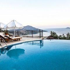 Mediteran Hotel Турция, Калкан - отзывы, цены и фото номеров - забронировать отель Mediteran Hotel онлайн бассейн фото 2