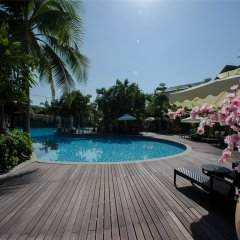 Отель Mingshen Golf & Bay Resort Sanya бассейн