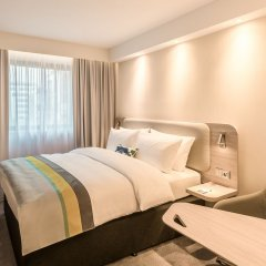 Отель Holiday Inn Express Hamburg - City Hauptbahnhof комната для гостей фото 5