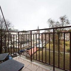Отель Apartament Przytulny OLD TOWN Heweliusza балкон