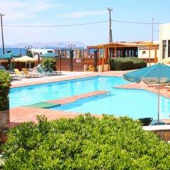 Отель Kaissa Beach Греция, Гувес - 1 отзыв об отеле, цены и фото номеров - забронировать отель Kaissa Beach онлайн бассейн фото 2