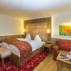 Отель HUBERTUSHOF Аниф комната для гостей фото 5