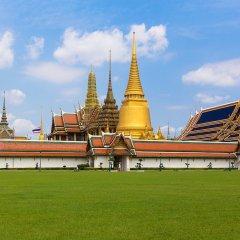 Отель Ekanake Hostel Таиланд, Бангкок - отзывы, цены и фото номеров - забронировать отель Ekanake Hostel онлайн приотельная территория фото 2