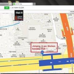 Отель Full House Jongno Южная Корея, Сеул - отзывы, цены и фото номеров - забронировать отель Full House Jongno онлайн городской автобус