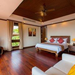 Отель Katamanda Villa 3BR with Private Pool E5 пляж Ката комната для гостей фото 5